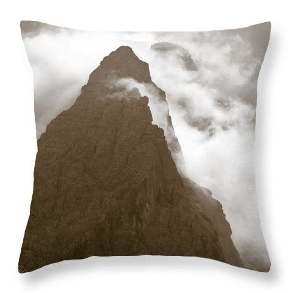 Mountainscape Throw Pillow by Frank Tschakert