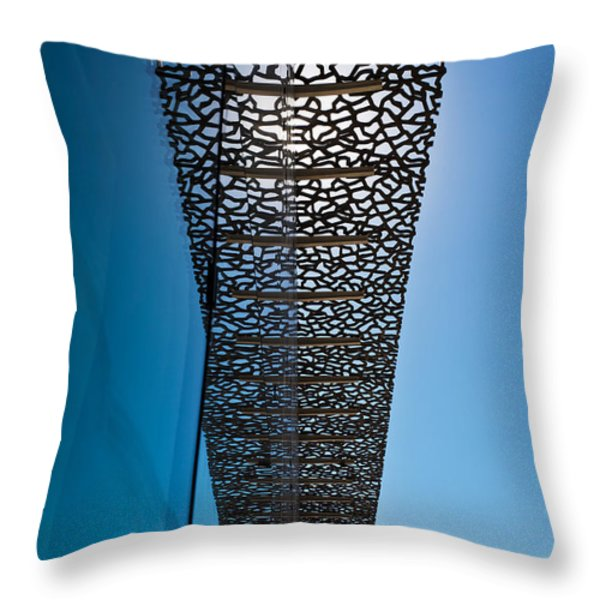 MUCEM 4 Throw Pillow by Delphimages Photo Creations