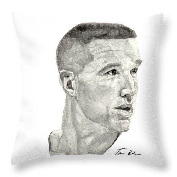 Mullin Throw Pillow by Tamir Barkan