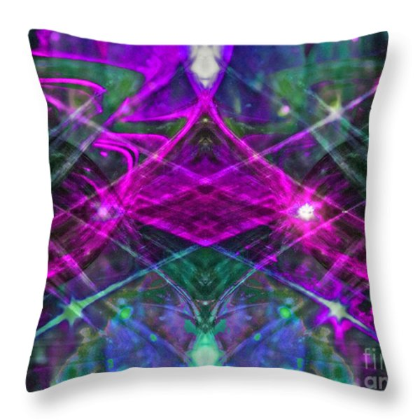 Multiplicity Universe 2 Throw Pillow by Chris Anderson