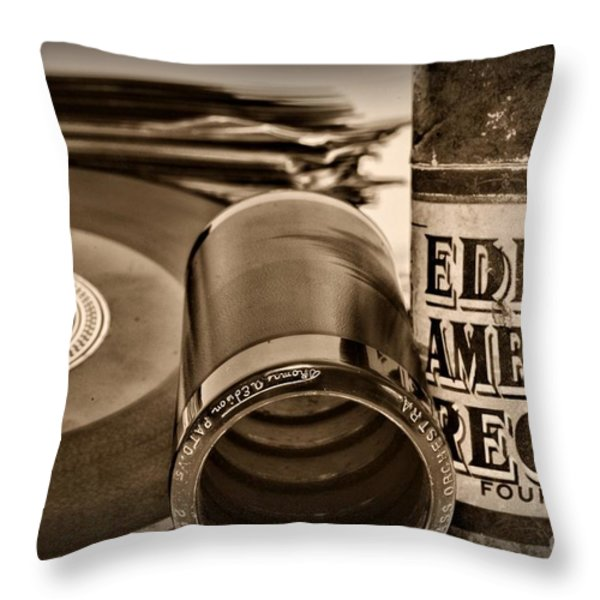 Music The beginning Throw Pillow by Paul Ward