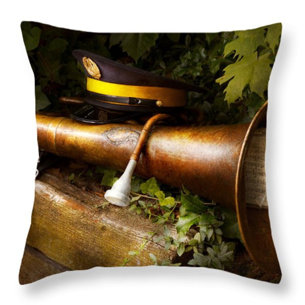 Musician - Untarnishable Reputation Throw Pillow by Mike Savad