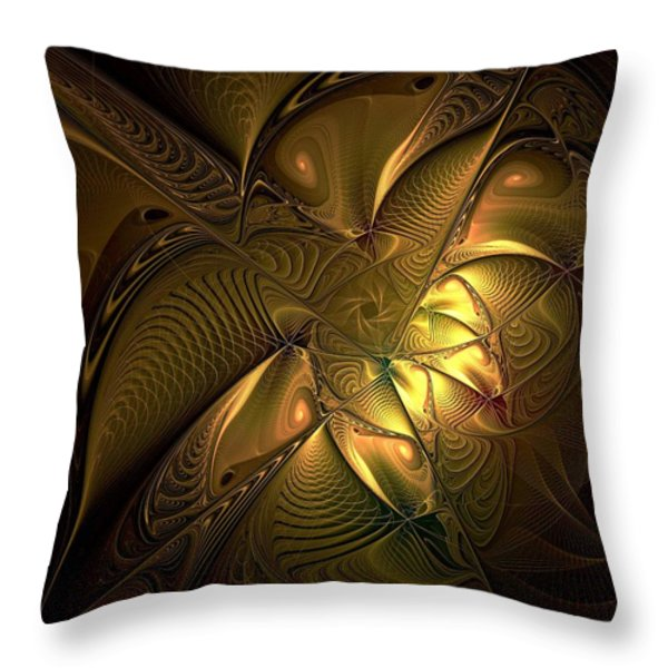 Musing Throw Pillow by Amanda Moore