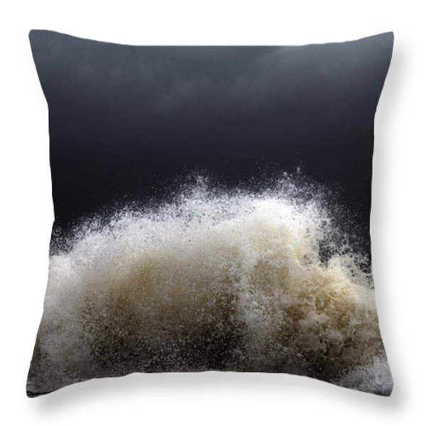 My Brighter Side of Darkness Throw Pillow by Stylianos Kleanthous
