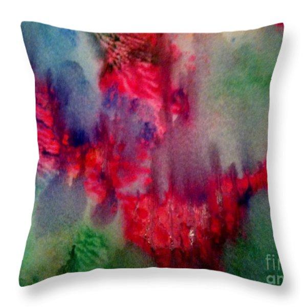 My Broken Heart Throw Pillow by Maya Telford