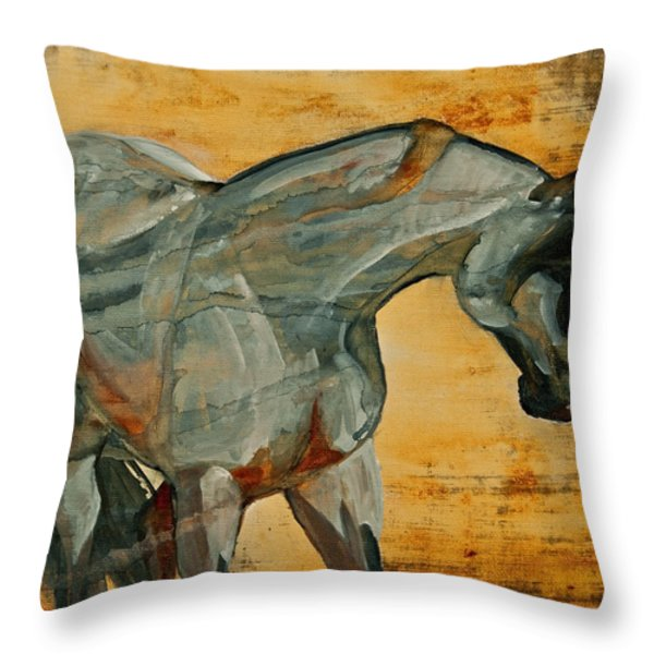 My Final Notice  Throw Pillow by Jani Freimann