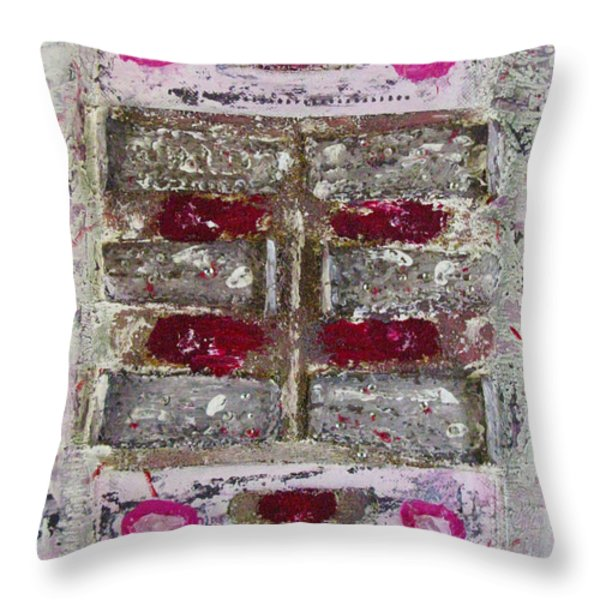 My Jewel Throw Pillow by Mini Arora