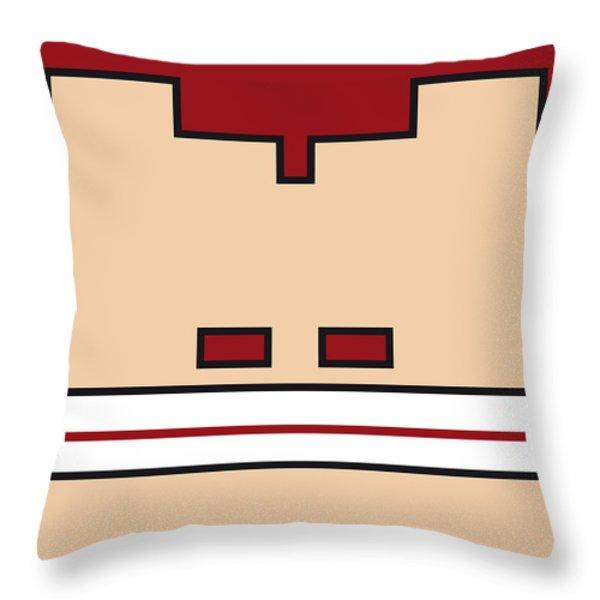 MY MARIOBROS FIG 03 MINIMAL POSTER Throw Pillow by Chungkong Art