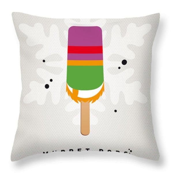 My Muppet Ice Pop - Dr Teeth Throw Pillow by Chungkong Art