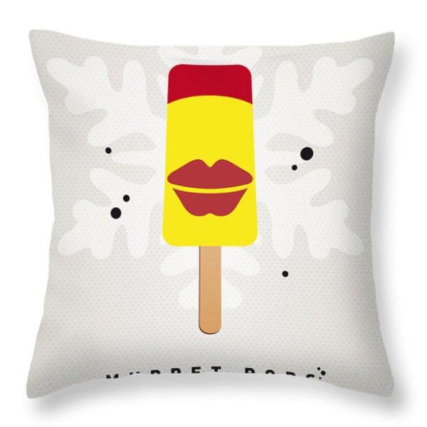 My Muppet Ice Pop - Janice Throw Pillow by Chungkong Art