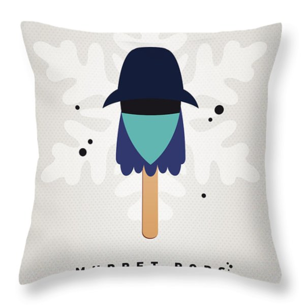 My MUPPET ICE POP - Zoot Throw Pillow by Chungkong Art