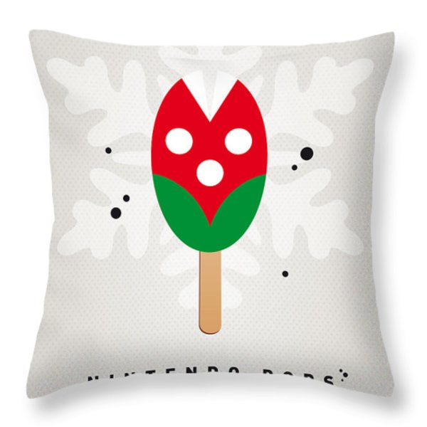 My NINTENDO ICE POP - Piranha Plant Throw Pillow by Chungkong Art