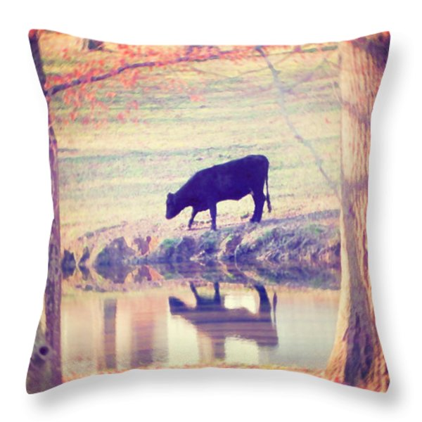 My Own Paradise Throw Pillow by Amy Tyler