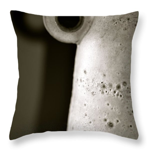 My Shadow Throw Pillow by Corinne Rhode