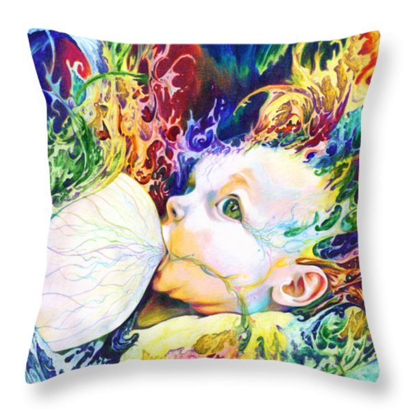 My Soul Throw Pillow by Kd Neeley