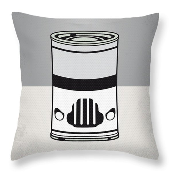 My Star Warhols Stormtrooper Minimal Can Poster Throw Pillow by Chungkong Art