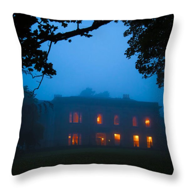 Mystery Night Throw Pillow by Svetlana Sewell
