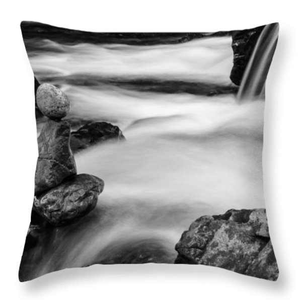 Mystic River S2 IV Throw Pillow by Marco Oliveira