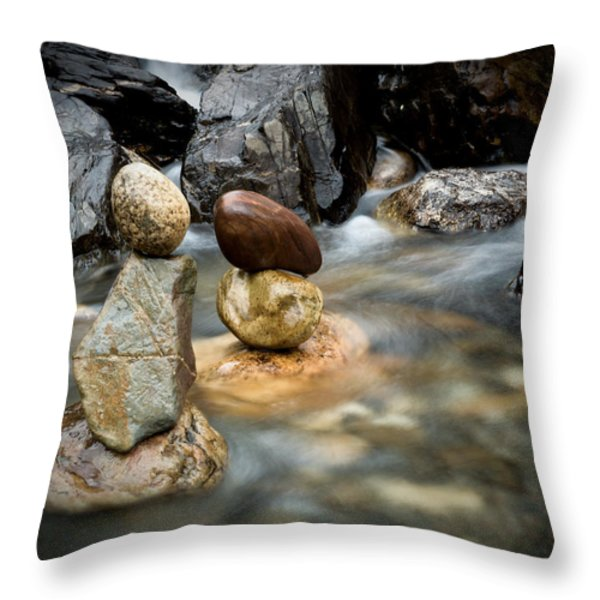 Mystic River S2 VII Throw Pillow by Marco Oliveira