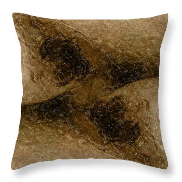 Mystical Gateway Throw Pillow by James Barnes