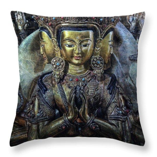 Mystical India Throw Pillow by Joachim G Pinkawa