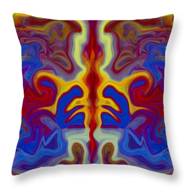 Myths of Dragons Throw Pillow by Omaste Witkowski