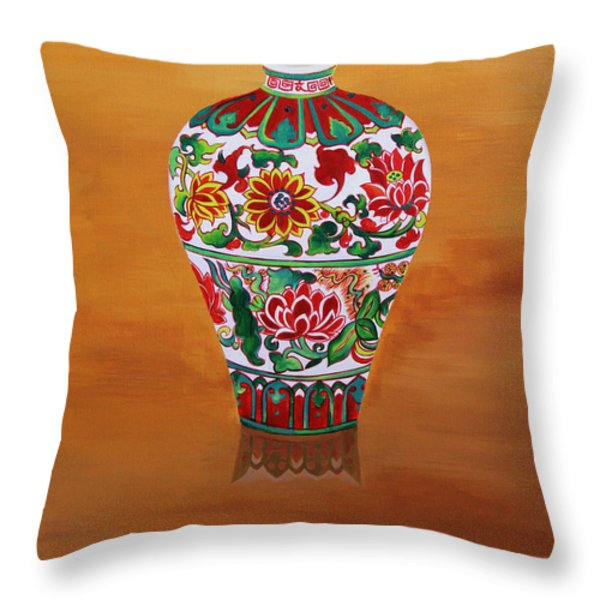 Narcissism and loneliness 1 Throw Pillow by Tingting Su