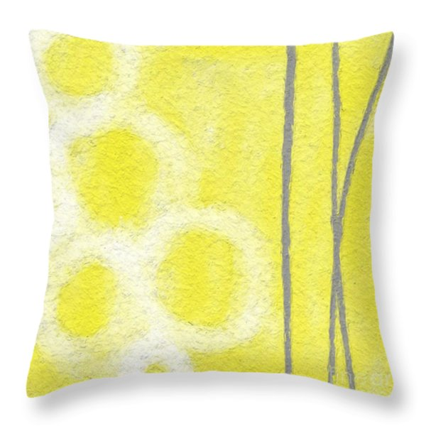Narcissus Throw Pillow by Linda Woods