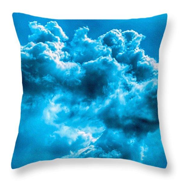 Natural Abstract Creations No 101 Throw Pillow by Bob and Nadine Johnston
