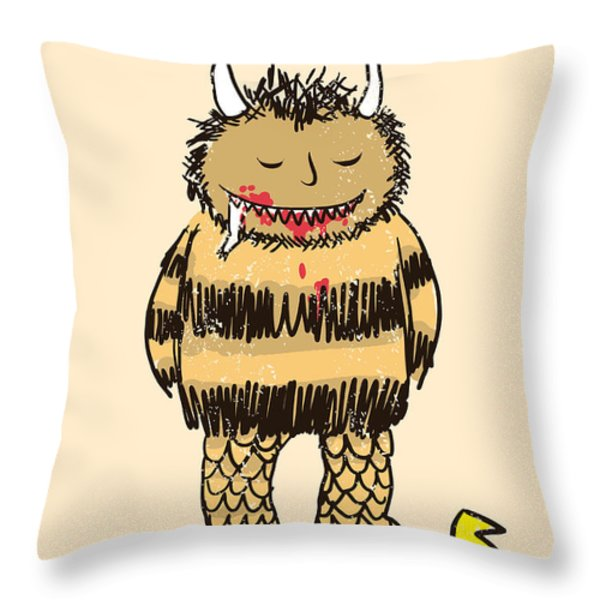 Natural Instinct Throw Pillow by Budi Satria Kwan