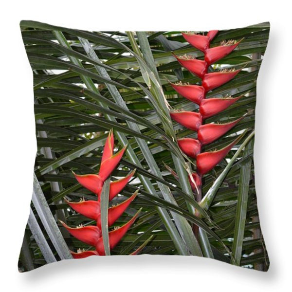 Natural Patterns Throw Pillow by Sonali Gangane