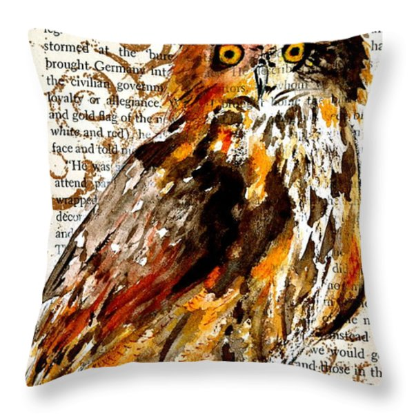 Nature Prevails High Contrast Throw Pillow by Beverley Harper Tinsley