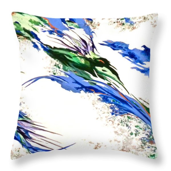 Nature's Essence Throw Pillow by Jan Law