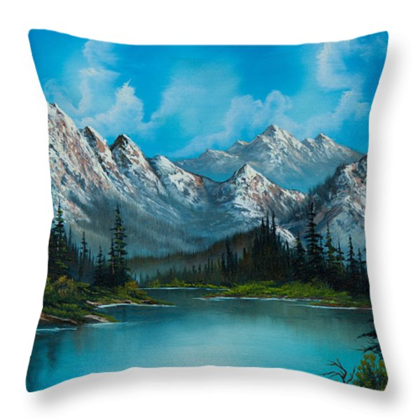 Nature's Grandeur Throw Pillow by C Steele