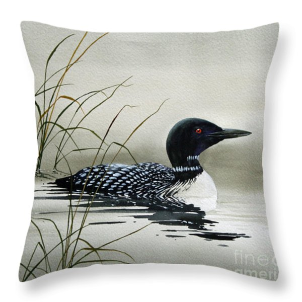 Nature's Serenity Throw Pillow by James Williamson