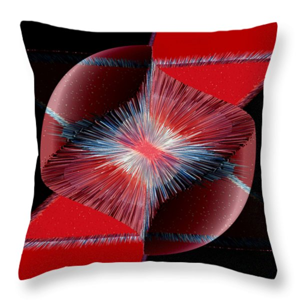 Nebulous 1 Throw Pillow by Angelina Vick