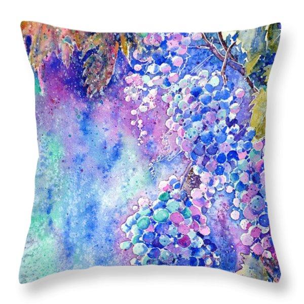 Nectar Of Nature Throw Pillow by Zaira Dzhaubaeva
