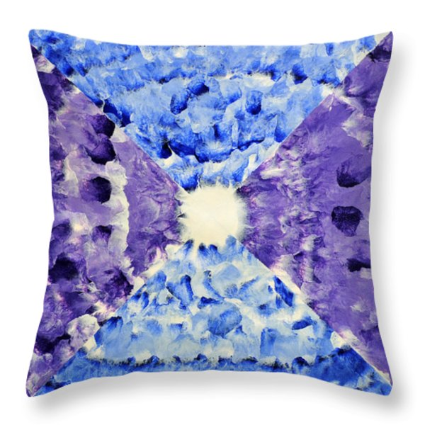 Neonspur Throw Pillow by Sumit Mehndiratta