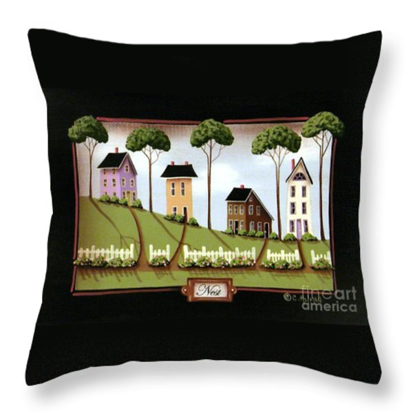 Nest Throw Pillow by Catherine Holman