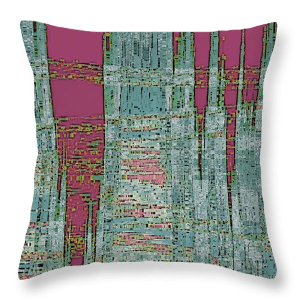 New Era Throw Pillow by Ben and Raisa Gertsberg