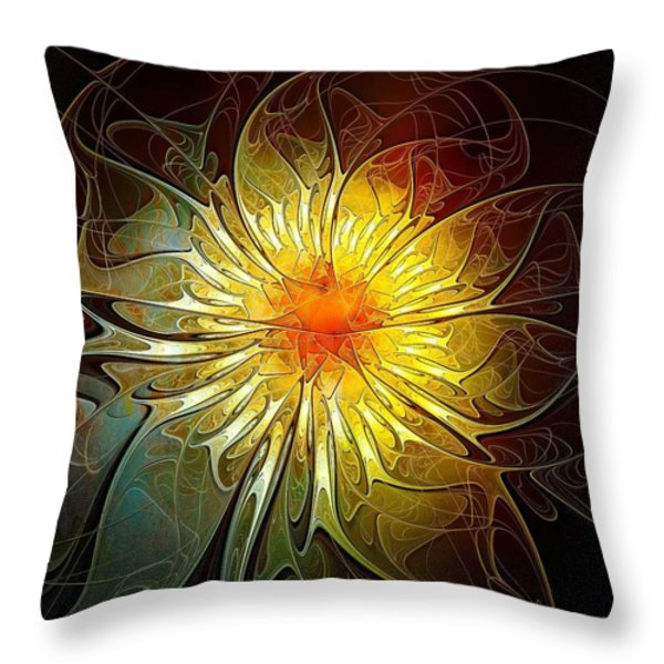 New Life Throw Pillow by Amanda Moore