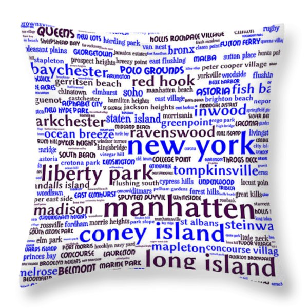New York 20130709whi Throw Pillow by Wingsdomain Art and Photography
