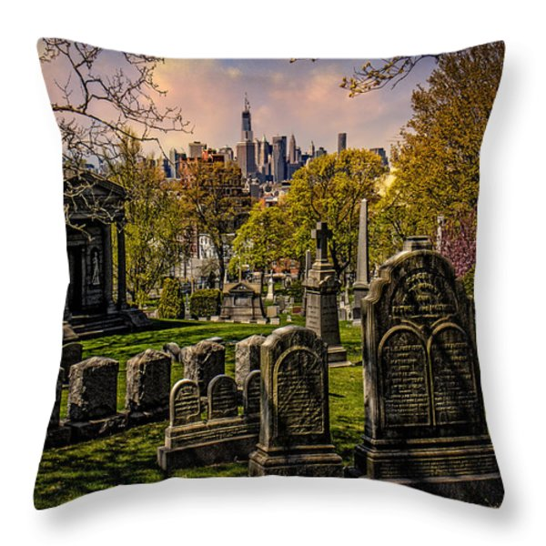 New York From City To City Throw Pillow by Chris Lord