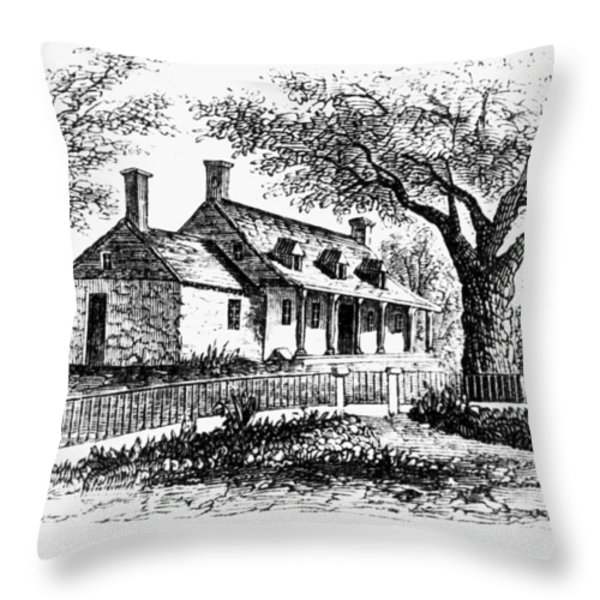 New York: Tavern, C1776 Throw Pillow by Granger