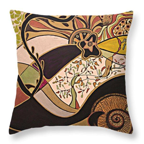 Night And Day.. Throw Pillow by Jolanta Anna Karolska