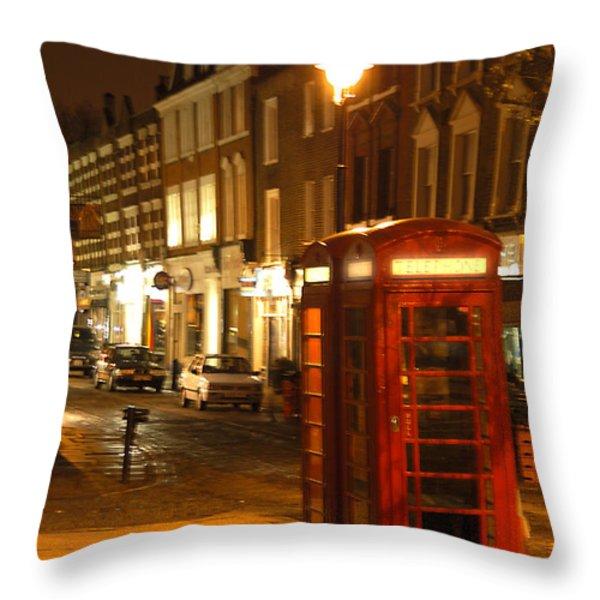 Night Call Throw Pillow by Mike McGlothlen