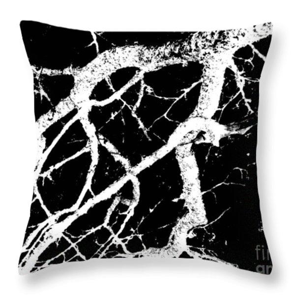 Night Creatures Throw Pillow by Pauli Hyvonen
