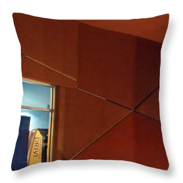 Night Interior With Window Throw Pillow by Ben and Raisa Gertsberg