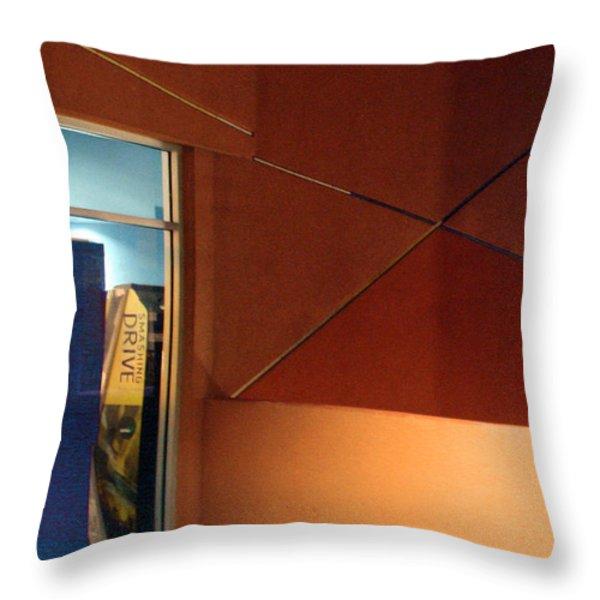Night Interior With Window Throw Pillow by Ben and Raisa Gertsberg