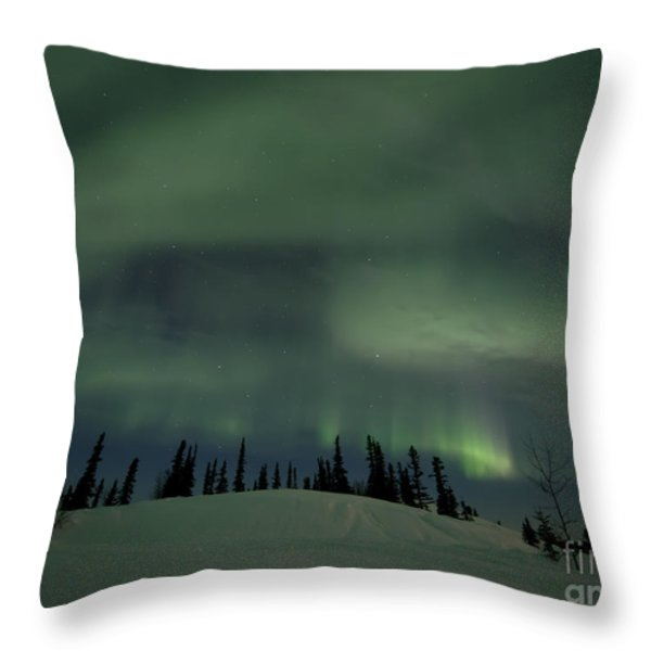 night lights Throw Pillow by Priska Wettstein